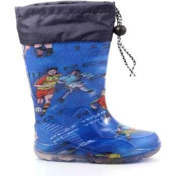 Scarpe Bambino Stivali da pioggia G&g BAMBY FANTASIA AZZUR Azzurro