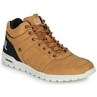 Scarpe Uomo Sneakers alte Kaporal DAWSON Camel / Nero