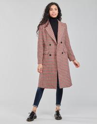 Abbigliamento Donna Cappotti Betty London PIVENE Nero / Rosso