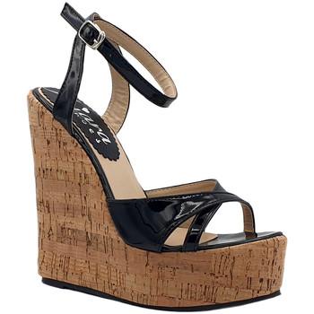 Scarpe Donna Sandali Kiara Shoes KHZ100 Nero