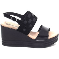 Scarpe Donna Sandali Susimoda scarpa donna, sandalo 3909 nero Nero