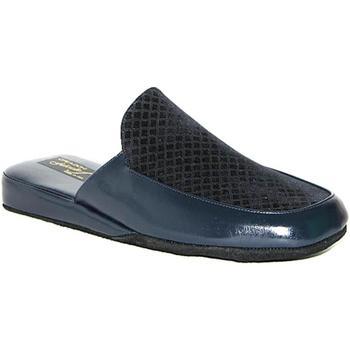 Scarpe Uomo Pantofole Falcade 18221 BLU