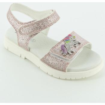 Scarpe Bambina Sandali Lelli Kelly 1508 glitter unicorno Rosa