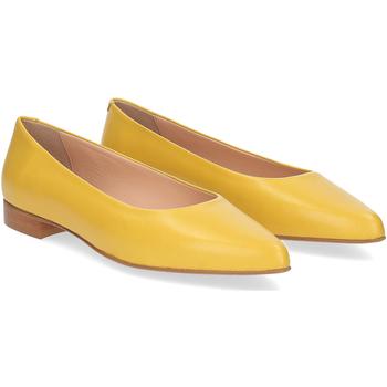Scarpe Donna Ballerine Il Laccio ballerina selena pelle gialla GIALLO