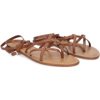 Scarpe Donna Sandali De Capri A Paris sandalo infradito 28 sandy marrone CUOIO