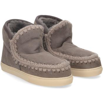Scarpe Donna Stivaletti Mou Eskimo sneaker charcoal GRIGIO