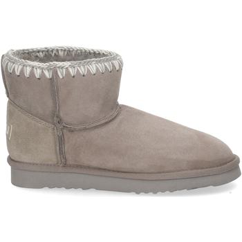 Scarpe Donna Stivaletti Mou Classic Boot new grey GRIGIO