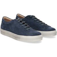 Scarpe Uomo Sneakers Griffis Griffi's sneaker 732 camoscio blu BLU