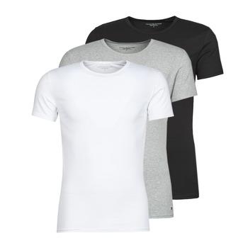Abbigliamento Uomo T-shirt maniche corte Tommy Hilfiger STRETCH TEE X3 Bianco / Grigio / Nero
