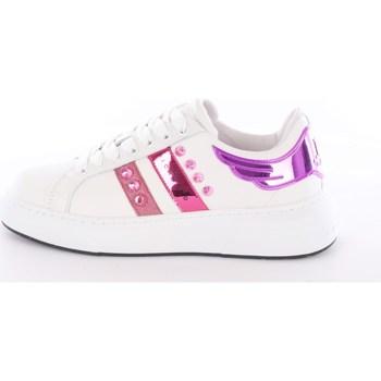Scarpe Donna Sneakers basse John Richmond 10207-CP Basse Donna Bianco & Fucsia Bianco & Fucsia