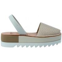 Scarpe Donna Sandali Ria Sandalias Menorquinas Abarcas Mujer de  Kim 27350-2-S2 Grigio