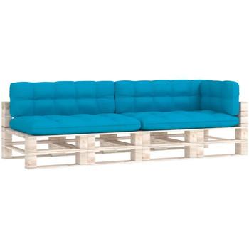 Casa cuscini VidaXL Cuscino Blu