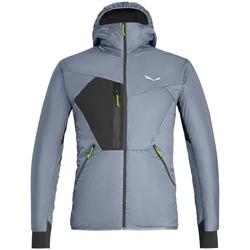 Abbigliamento Uomo giacca a vento Salewa Pedroc Hybrid Twr M Hood Jkt Grigio