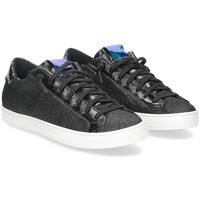 Scarpe Donna Sneakers basse P448 John-W camoscio lurex nero NERO