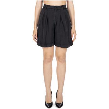 Abbigliamento Donna Shorts / Bermuda Department Five KANANA SHORT C/PENCES cc999-nero