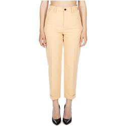 Abbigliamento Donna Pantaloni Department Five VOLT PANTALONE REGOULAR cc520-nude