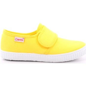 Scarpe Unisex bambino Sneakers basse Cienta 113 - 58000 Giallo