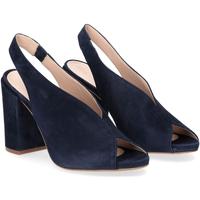 Scarpe Donna Sandali Il Laccio sandalo camoscio blu BLU
