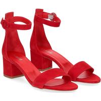 Scarpe Donna Sandali Il Laccio Sandalo 669 camoscio rosso ROSSO