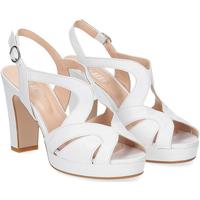 Scarpe Donna Sandali Il Laccio sandalo in pelle bianca BIANCO