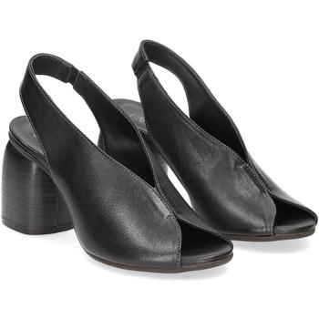 Scarpe Donna Sandali Il Laccio sandalo 4800 pelle nero NERO