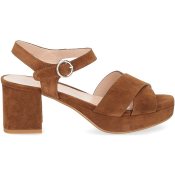 Scarpe Donna Sandali Il Laccio sandalo 6213 camoscio marrone MARRONE