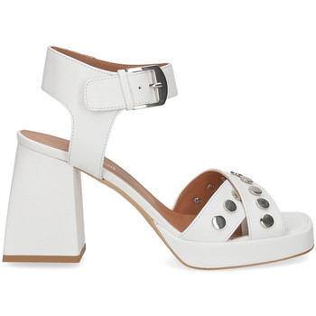 Scarpe Donna Sandali Il Laccio sandalo A1208 in pelle bianco BIANCO