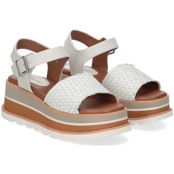 Scarpe Donna Sandali Rahya Grey sandalo Bea pelle bianco BIANCO