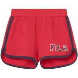 Abbigliamento Bambina Shorts / Bermuda Fila SOPHIA SWEAT SHORTS BIMBA Red