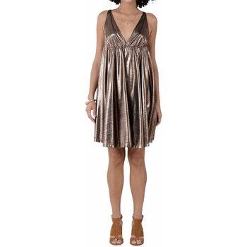 Abbigliamento Donna Abiti corti Molly Bracken LADIES WOVEN DRESS ABITO DONNA Rame