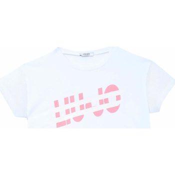 Abbigliamento Bambina T-shirt maniche corte Liu Jo T-shirt Bambina  GA1115/J5003 10601 White