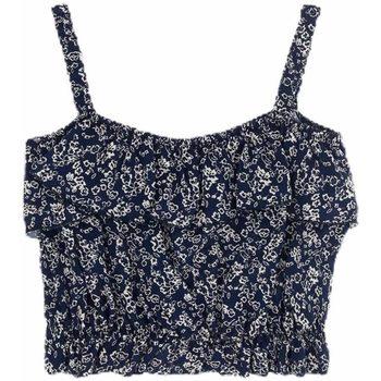 Abbigliamento Bambina Top / Blusa Dixie CANOTTA GIRL Blu