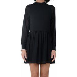 Abbigliamento Donna Abiti corti Molly Bracken STAR LADIES WOVEN DRESS ABITO DONNA Black