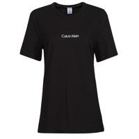 Abbigliamento Donna T-shirt maniche corte Calvin Klein Jeans SS CREW NECK Nero