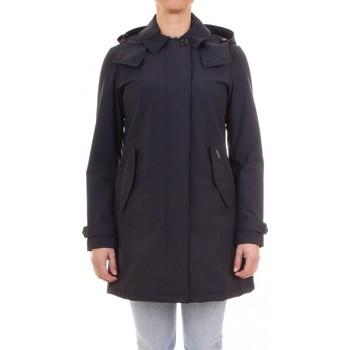 Abbigliamento Donna Trench Woolrich ATRMPN-26942 Blu