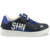 Scarpe Unisex bambino Sneakers basse Shone - 208-116 Blu