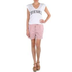 Abbigliamento Donna Shorts / Bermuda Diesel HANTU Rosa