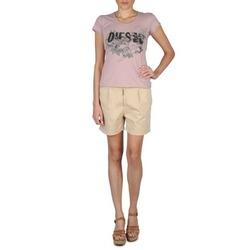Abbigliamento Donna Shorts / Bermuda Diesel HANTU Beige