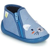 Scarpe Bambino Pantofole Citrouille et Compagnie PASTA Blu