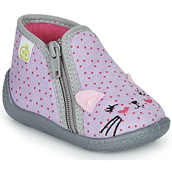 Scarpe Bambina Pantofole Citrouille et Compagnie PUSILI Grigio