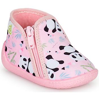 Scarpe Bambina Pantofole Citrouille et Compagnie PIFOU Rosa