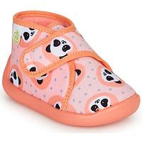 Scarpe Bambina Pantofole Citrouille et Compagnie PASTACARBO Saumon