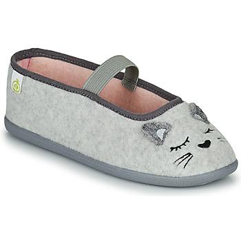 Scarpe Bambina Pantofole Citrouille et Compagnie PASTALDENTE Grigio / Rosa