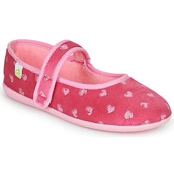 Scarpe Bambina Pantofole Citrouille et Compagnie PIWOINE Fucsia