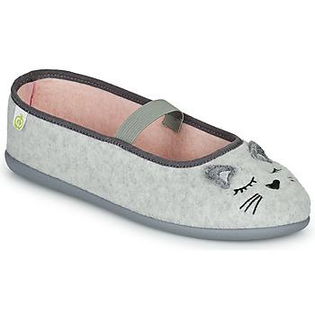 Scarpe Bambina Pantofole Citrouille et Compagnie PASTALDENTE Grigio