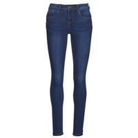 Abbigliamento Donna Jeans slim Noisy May NMJEN Blu / Scuro