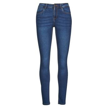 Abbigliamento Donna Jeans slim Noisy May NMJEN Blu / Medium