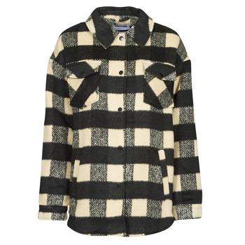 Abbigliamento Donna Giacche / Blazer Noisy May NMLULU Beige / Nero