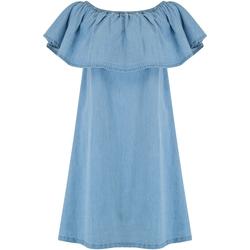 Abbigliamento Donna Abiti corti Animal  Blu