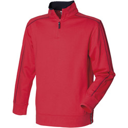 Abbigliamento Uomo Felpe in pile Front Row FR802 Rosso/Blu navy